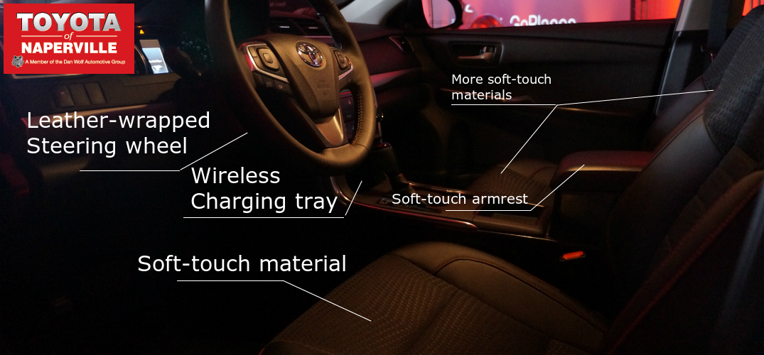 interior for the 2015 Camry